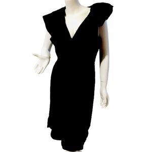 BCBG Maxazria Size M Black Dress